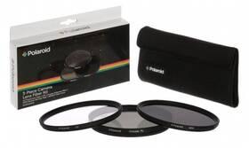 Filter Polaroid 67mm (UV MC, CPL, ND9), set 3ks (PL3FILND67) čierny