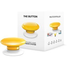 Tlacitko Fibaro Button, Z-Wave Plus (FIB-FGPB-104-ZW5) žlté
