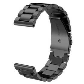 Remienok WG na Garmin fenix 5X, kovový (9144) čierny