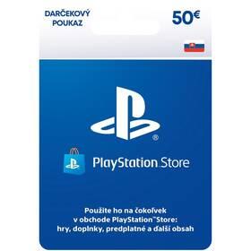 Predplatená karta Sony PlayStation Live Cards 50 EUR - pouze pro SK PS Store (PS719800057)
