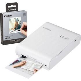 Fototlačiareň Canon Selphy Square QX10 + fotopapiere 20 ks biela