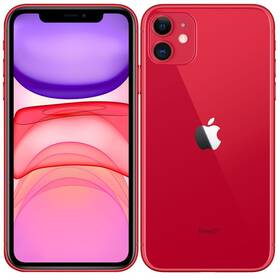Mobilný telefón Apple iPhone 11 256 GB - (PRODUCT)RED (MHDR3CN/A)