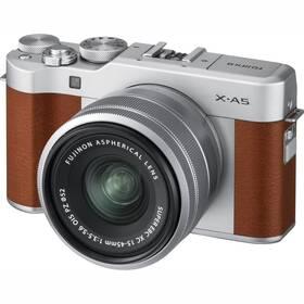 Digitálny fotoaparát Fujifilm X-A5 + 15-45 mm hnedý