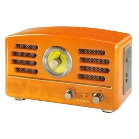 Rádioprijímač Hyundai Retro RA 302, dub drevené