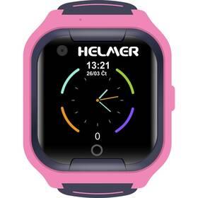 Inteligentné hodinky Helmer LK709 dětské s GPS lokátorem (Helmer LK 709 P) ružový