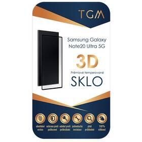 Tvrdené sklo TGM 3D na Samsung Galaxy Note20 Ultra 5G (TGM3DSGNO20U5G) čierne