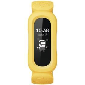 Fitness náramok Fitbit Ace 3 Minions Edition - černá/žlutá (FB419BKYW)