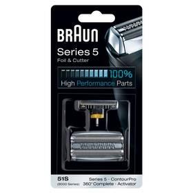 Príslušenstvo pre holiace strojčeky Braun CombiPack Series5 - 51S strieborné