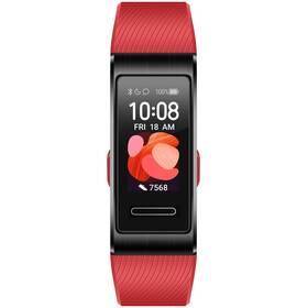 Fitness náramok Huawei Band 4 Pro (55024890) červený