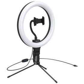 Svetlo Baseus kruhové světlo pro natáčení, se stojanem (CRZB10-A01) čierne