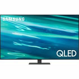 Televízor Samsung QE55Q80AA strieborná