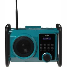 Stavebné rádio Denver WRB-50 zelený