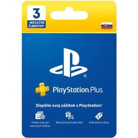 Predplatená karta Sony PlayStation Plus Card 90 dní - pouze pro SK PS Store (PS719801054)