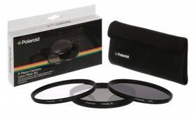 Filter Polaroid 52mm (UV MC, CPL, ND9), set 3ks (PL3FILND52) čierny