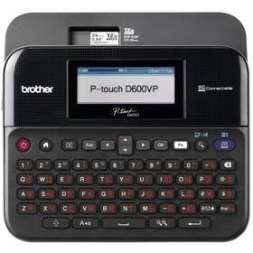 Tlačiareň štítkov Brother PT-D600VP s kufrem (PTD600VPYJ1)