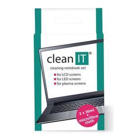 Čistiaca sada Clean IT roztok na notebooky s utěrkou, 2x30ml (CL-182)