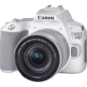 Digitálny fotoaparát Canon EOS 250D + 18-55 IS STM (3458C001) biely