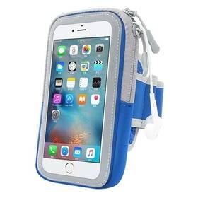 "Púzdro na mobil športové Forever Zipper 6.0"" modré"