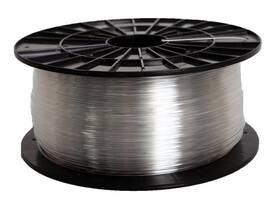 Tlačová struna (filament) Filament PM 1,75 PETG, 1 kg (F175PETG_TR) priehľadná