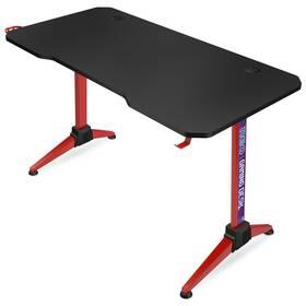Herný stôl Connect IT NEO (CGD-2019-RD) čierny/červený