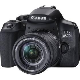 Digitálny fotoaparát Canon EOS 850D + 18-55 IS STM (3925C002) čierny