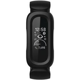 Fitness náramok Fitbit Ace 3 (FB419BKRD) čierny/červený