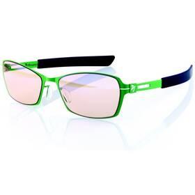Herné okuliare Arozzi VISIONE VX-500, jantarová skla (VX500-3) čierne/zelené