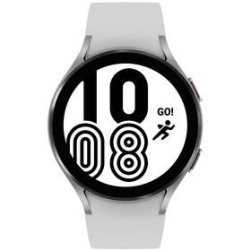 Inteligentné hodinky Samsung Galaxy Watch4 44mm (SM-R870NZSAEUE) strieborné