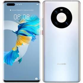 Mobilný telefón Huawei Mate 40 Pro (HMS) 5G (MT-MATE40PDSSOM) strieborný
