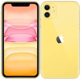 Mobilný telefón Apple iPhone 11 128 GB - Yellow (MHDL3CN/A)