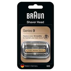 Príslušenstvo pre holiace strojčeky Braun Combi Pack Series9 - 92S strieborné
