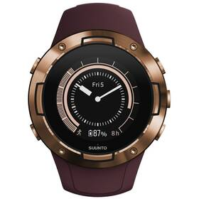GPS hodinky Suunto 5 - Burgundy Copper (SS050301000)