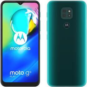 Mobilný telefón Motorola Moto G9 Play - Forest green (PAKK0001PL)