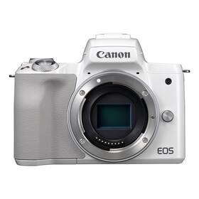 Digitálny fotoaparát Canon EOS M50, tělo (2681C002) biely