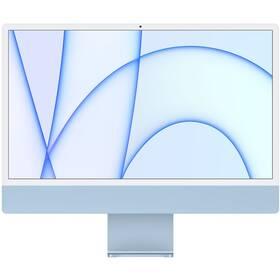 "PC all in-one Apple iMac 24"" M1 8x GPU, 8GB, 256GB, SK - Blue (MGPK3SL/A)"