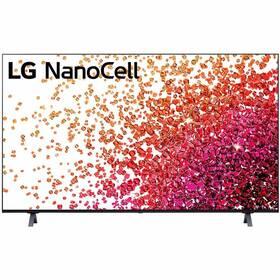 Televízor LG 65NANO75P sivá