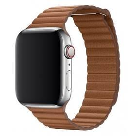 Remienok COTEetCI Loop Band na Apple Watch 42/44mm, kožený, magnetický (WH5206-SN) hnedý