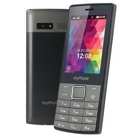 Mobilný telefón myPhone 7300 Dual SIM (TELMY7300GR) čierny/strieborný