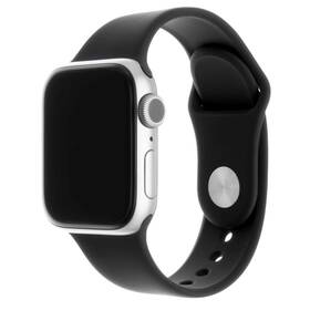 Remienok FIXED Silicone Strap na Apple Watch 38/40/41 mm (FIXSST-436-BK) čierny
