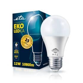 LED žiarovka ETA EKO LEDka klasik 12W, E27, studená biela (A60W12CW)