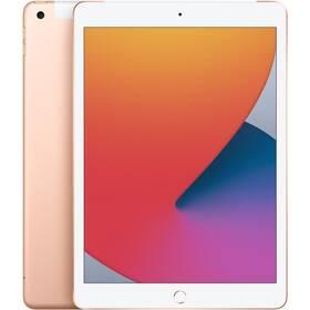 Tablet Apple iPad (2020) Wi-Fi + Cellular 128GB - Gold (MYMN2FD/A)