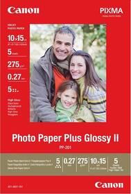 Fotopapier Canon PP-201 10x15, 265-275g, 50 listů (2311B003) biely