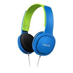 Slúchadlá Philips SHK2000 (SHK2000BL/00) modrá/zelená