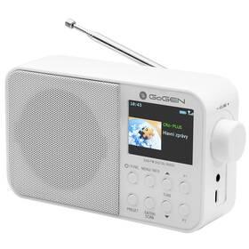 Rádioprijímač s DAB+ GoGEN DAB 500 BT C biely