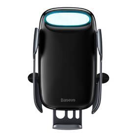 Držiak na mobil Baseus Milky Way Aurora Electric Automatic Holder Wireless Charging 15W (WXHW02-01) čierny