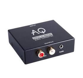 DAC prevodnik AQ AC01DA (6ac01da) čierny