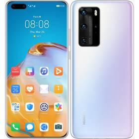 Mobilný telefón Huawei P40 Pro (HMS) 5G (SP-P40P256DSWOM) biely