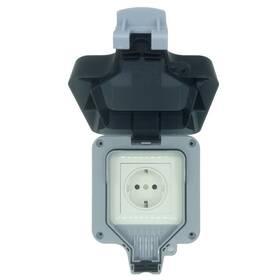 Chytrá zásuvka IMMAX NEO LITE Smart Venkovní zásuvka IP66, WiFi (07708L)