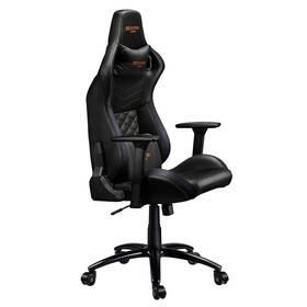 Herná stolička Canyon Nightfall (CND-SGCH7) čierna/oranžová