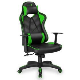 Herná stolička Connect IT LeMans Pro (CGC-0700-GR) čierna/zelená